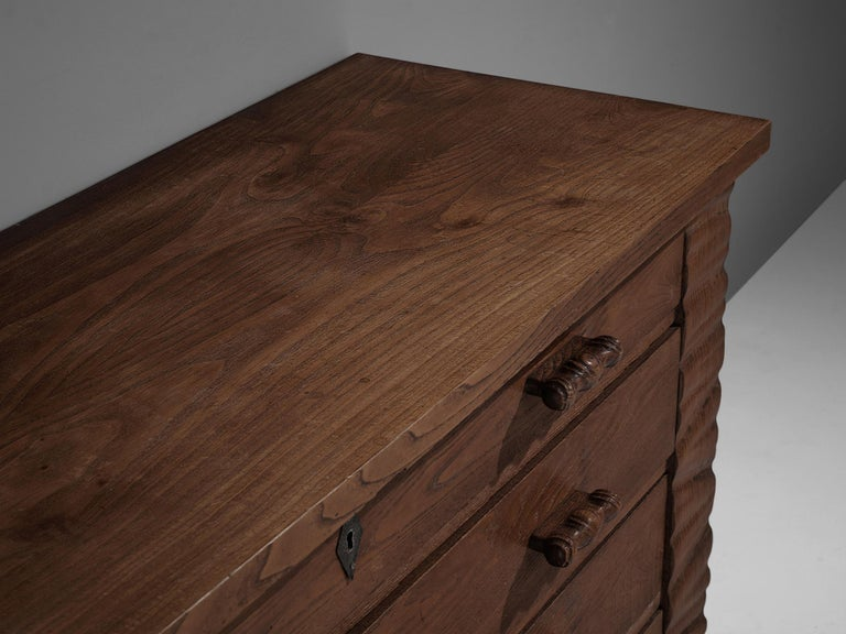 Ernesto Valabrega Chest of Drawers in Oak For Sale 1
