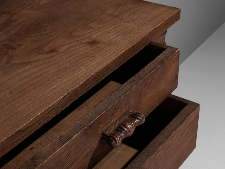 Ernesto Valabrega Chest of Drawers in Oak For Sale 3