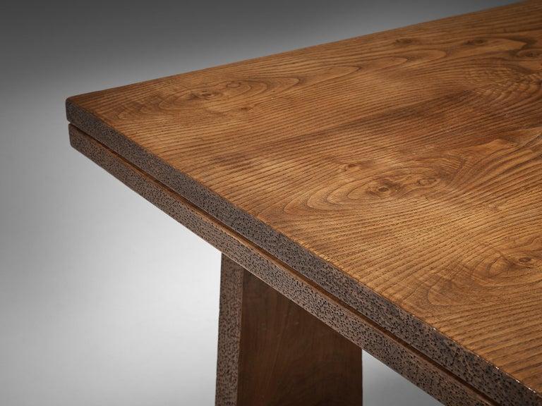 Ernesto Valabrega Extendable Dining Table in Oak 8