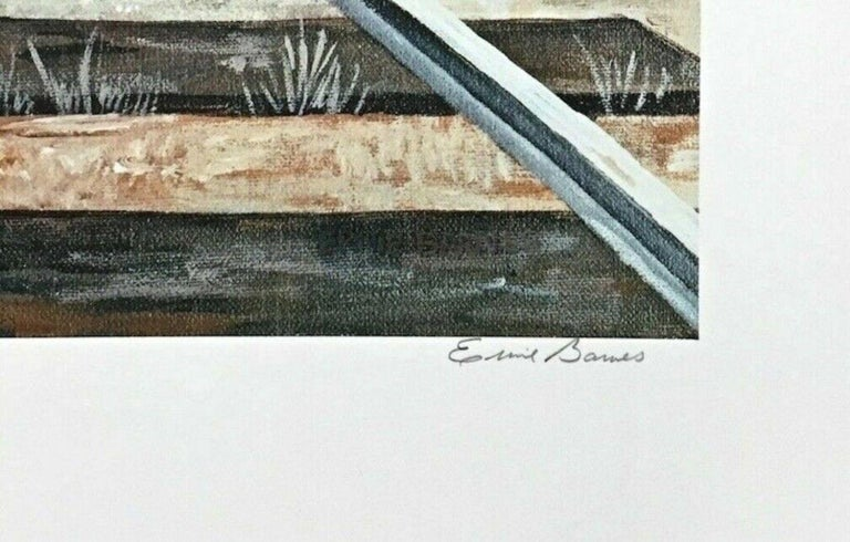Destination Unknown, Limited Edition Lithograph, Ernie Barnes - Pop Art Print by Ernie Barnes