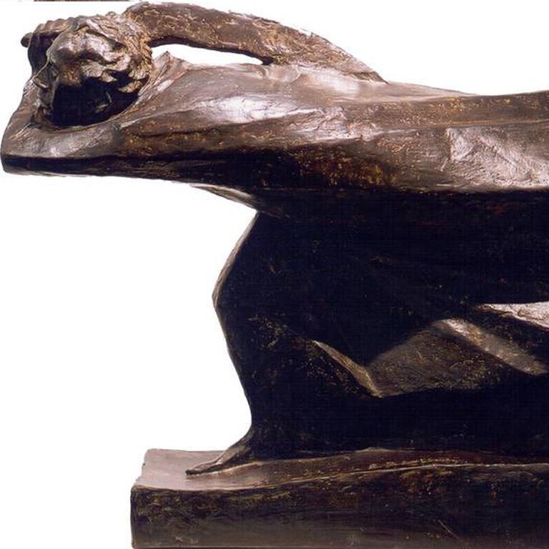 Ernst Barlach Bronze Skulpture
