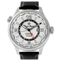 Ernst Benz ChronoFlite World Timer 10852, White Dial, Certified