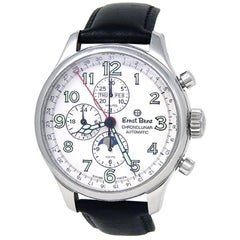 Ernst Benz Chronolunar 10300, White Dial, Certified and Warranty