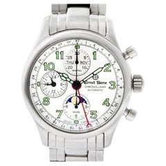 Ernst Benz Chronolunar GC20312b, White Dial, Certified and Warranty