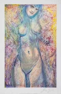 """Ernst Fuchs """"Sacré De Printemps"""" Nude"""