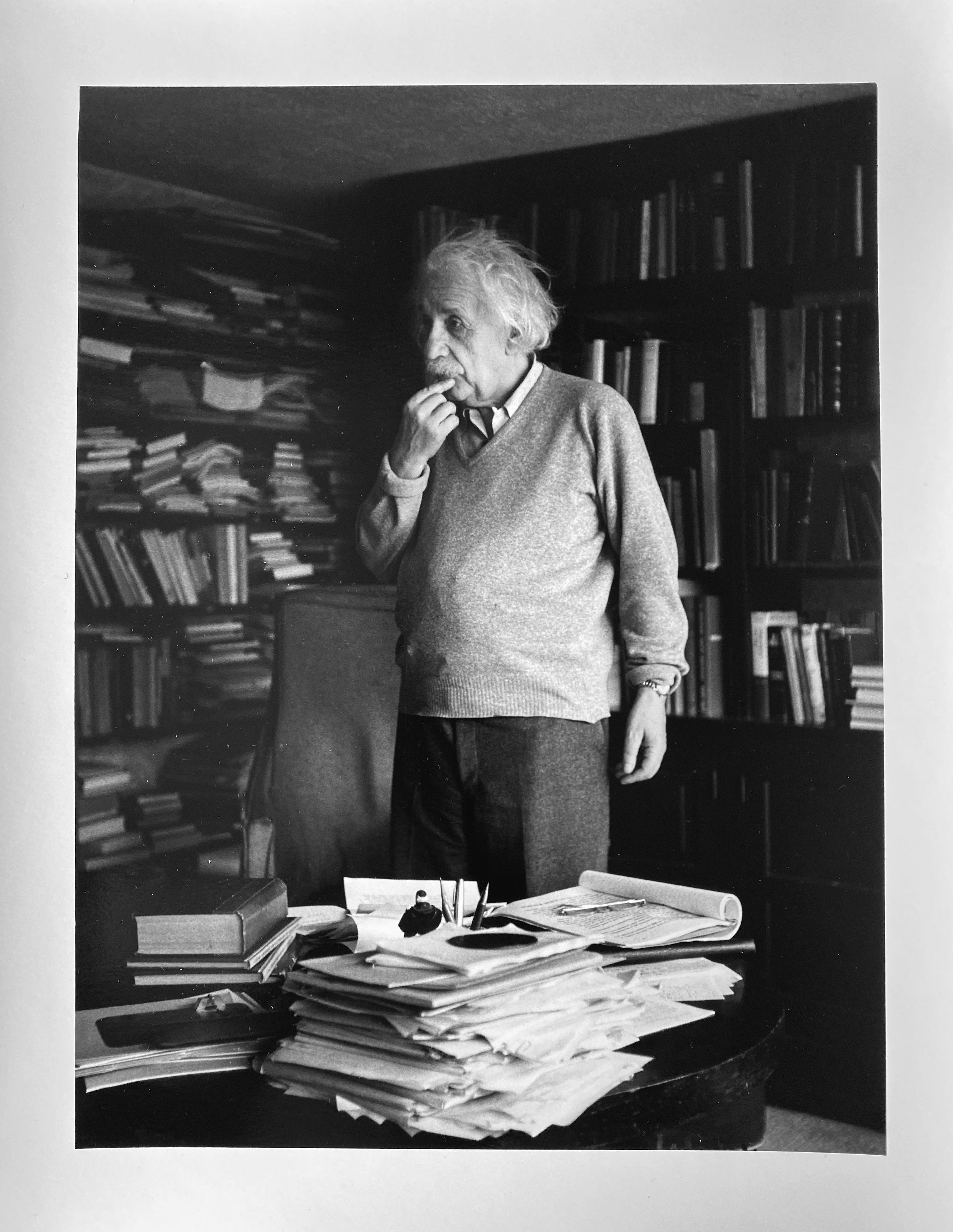 Albert Einstein, Princeton, NJ Portrait by Master of 20th Century Photography