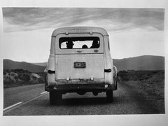 Car From The Back, Utah, USA by Master of 20th Century Photography
