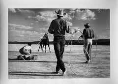 Cowboys, Nevada USA by Master of 20th Century Photography