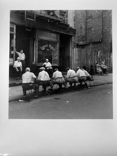 Lunchroom, Little Italy, New York City by Master of 20th Century Photography