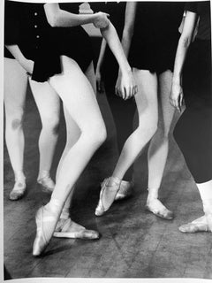 New York City Ballet, Black and White Dance Photography Young Ballerinas 1960s
