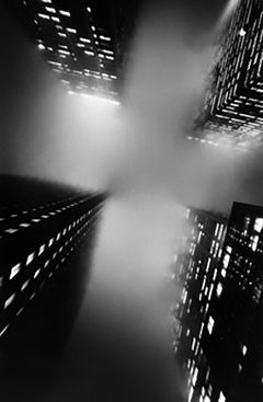 The Cross, New York City, Black and White Architectural Landscape Photography
