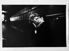 The Kiss, Grand Central Station, New York, Black and White Photography 1950s