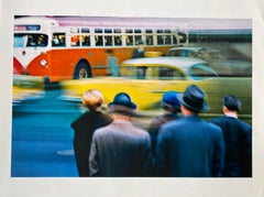 Yellow Cab, New York by Master of 20th Century Photography