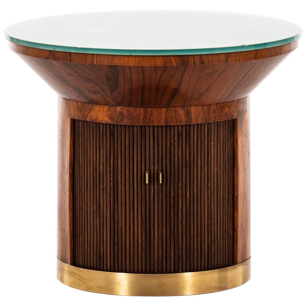 Ernst Kühn Coffee Table / Bar Cabinet by Lysberg Hansen & Therp in Denmark