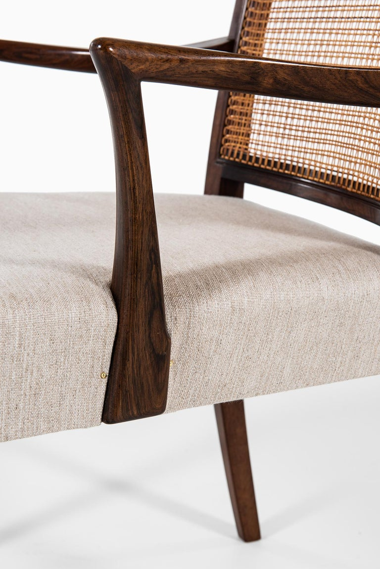 Danish Ernst Kühn Dining Chairs Produced by Lysberg Hansen & Therp in Denmark For Sale