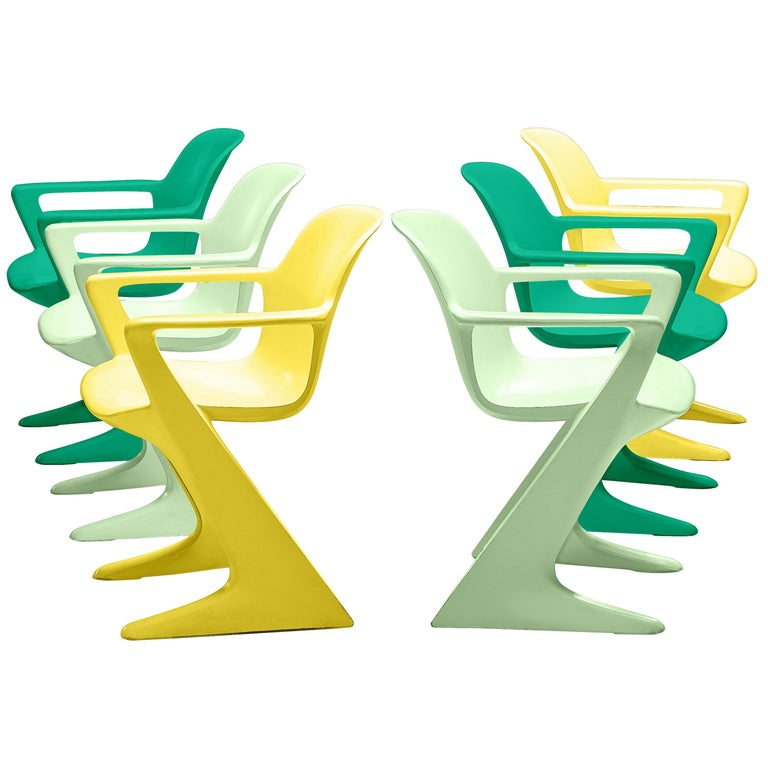 Ernst Moeckl Colorful Kangaroo Chairs For Sale