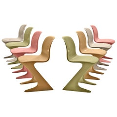 Ernst Moeckl Colorful Kangaroo Chairs