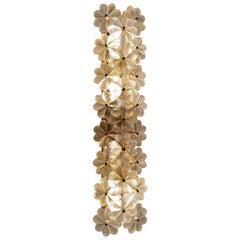 Ernst Palme Floral Glass Sconce