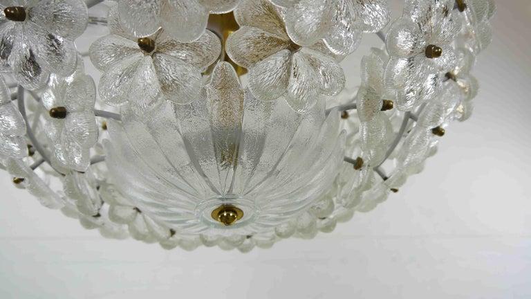 Kronleuchter Floral ~ Ernst palme große floral glassflowers kronleuchter im angebot bei