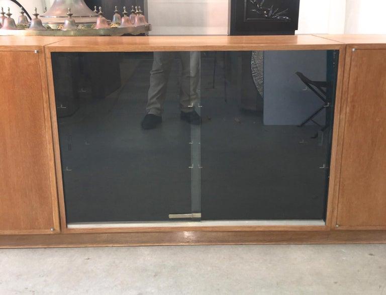 Ernst Schwadron Cerused Triple Cabinet For Sale 5