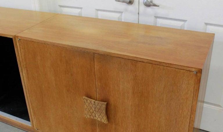 Ernst Schwadron Cerused Triple Cabinet For Sale 7