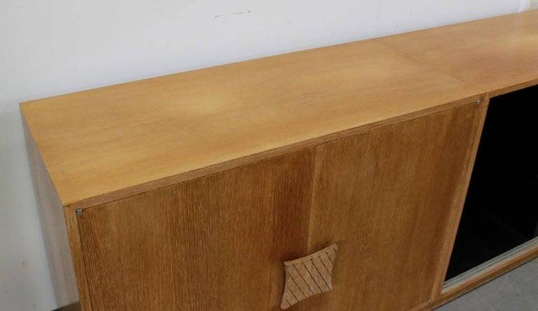 Ernst Schwadron Cerused Triple Cabinet For Sale 8