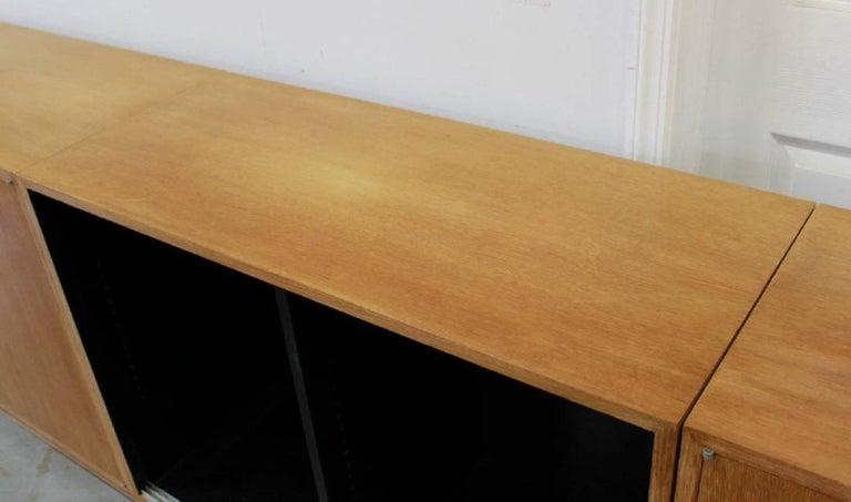 Ernst Schwadron Cerused Triple Cabinet For Sale 9