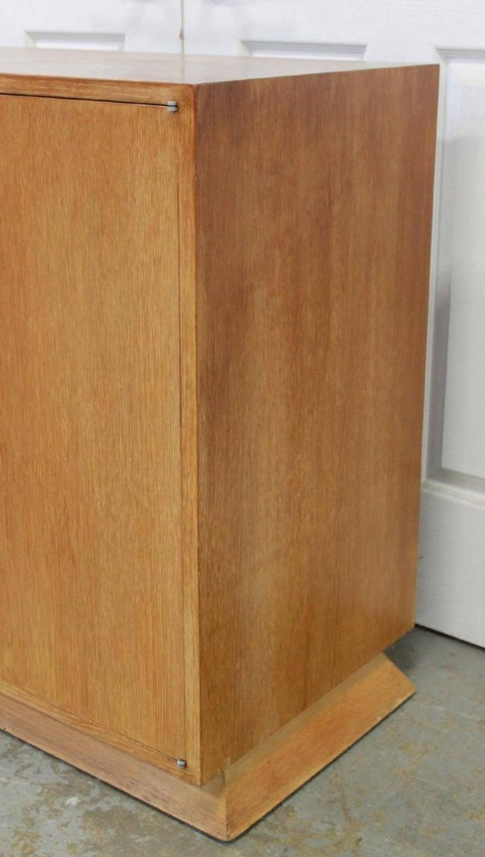 Ernst Schwadron Cerused Triple Cabinet For Sale 10