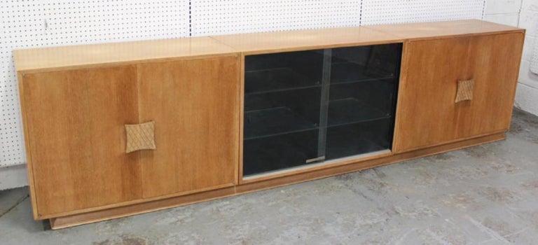 Ernst Schwadron Limed Oak Cabinet For Sale 8
