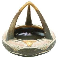 Ernst Wahliss Austrian Art Nouveau Porcelain Bowl