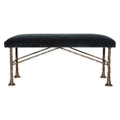 """""""Erode,"""" Bronze Bench by Alexandre Logé"""