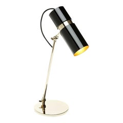 Eroll Table Lamp with Black Lacquered Shade