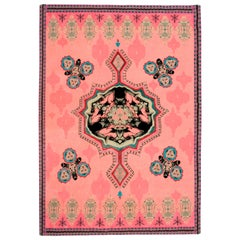 Eros Carpet, Hand Knotted in Wool and Silk 100 Kpi, Sofie Lachaert & Luc d'Hanis