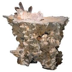 """""""Erosion"""" Cast Bronze Luminaire"""