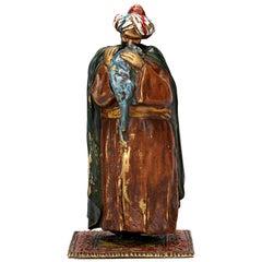 Erotic Bedouin Bronze Figurine