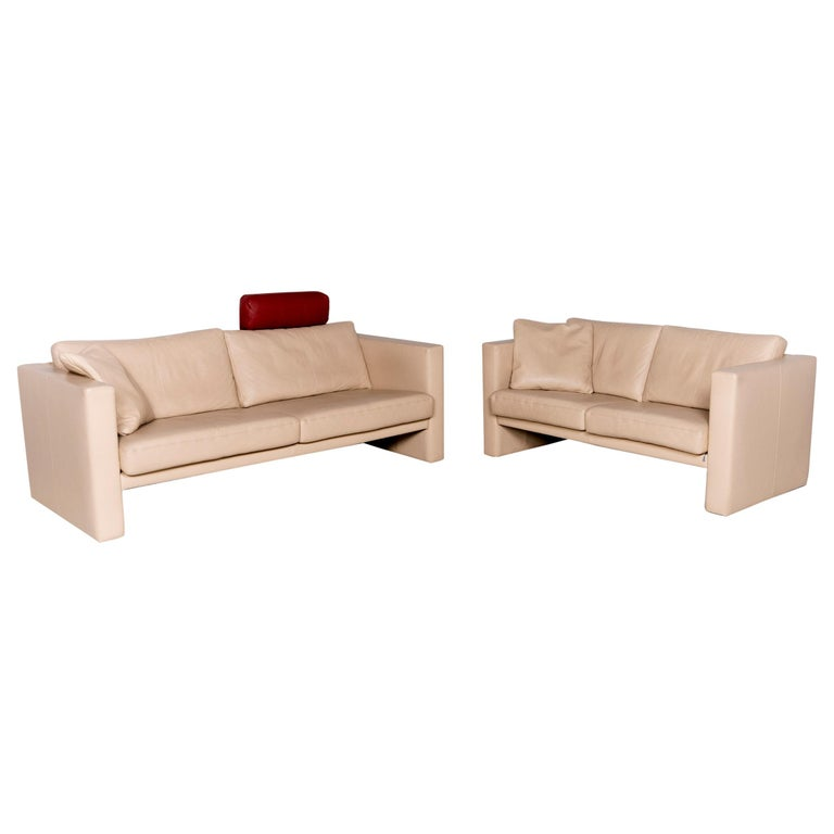 Awe Inspiring Erpo Cl 100 Designer Leather Sofa Set Beige Genuine Leather Two Seat Pabps2019 Chair Design Images Pabps2019Com