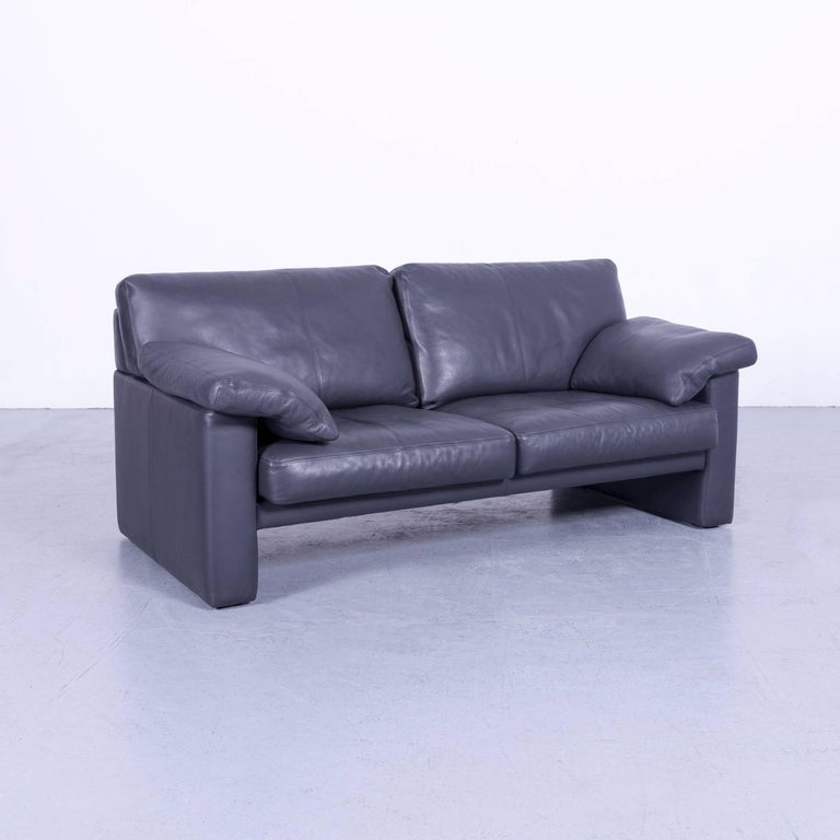 Excellent Erpo Cl 300 Leather Sofa Grey Two Seat Couch For Sale At 1Stdibs Pdpeps Interior Chair Design Pdpepsorg