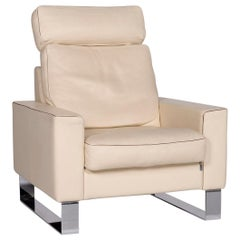Erpo Cl 400 Leather Armchair Cream Function