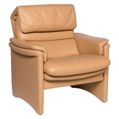 Erpo Leather Armchair Beige Function Relax Function
