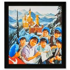 """Chairman Mao's Long Journey"" Neuschwanstein (Bayiere)"