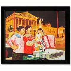 """""""Chairman Mao's Long Journey"""" Wien (Autriche)"""