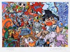 """Le Petit Manga Picasso"", Pop Art Print by Erró"