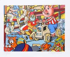 """""""Leger"""", Pop Art Print by Erró"""
