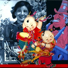 Les Grands Enfants de Mao, Pop Art, Figuration Narrative, Contemporary Art