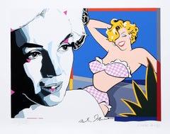 """Marilyn Monroe"", Pop Art Print by Erró"