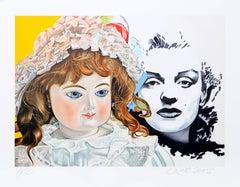 """Marilyn"", Pop Art Print by Erró"