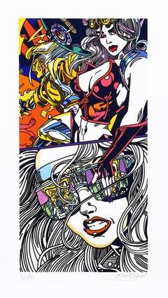 """""""Reflection"""", Pop Art Print by Erró"""