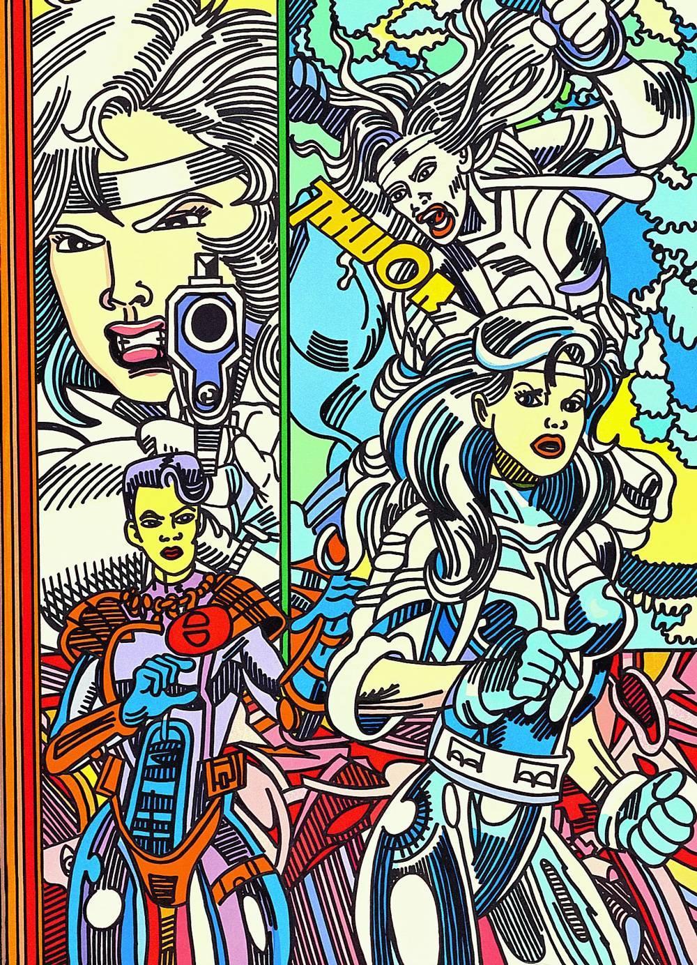 Silver Sabler, Pop Art, Contemporary Art