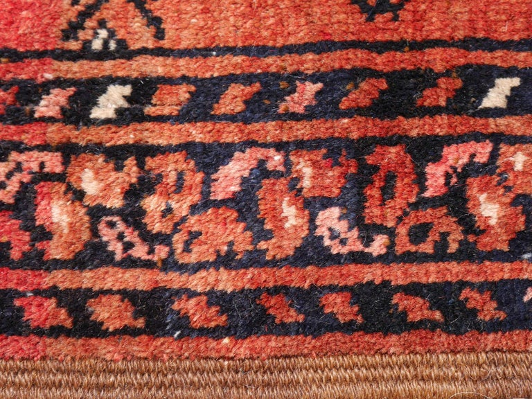 Ersari Rug Large Size Tribal Turkoman Hand Knotted Semi Antique Carpet For Sale 3