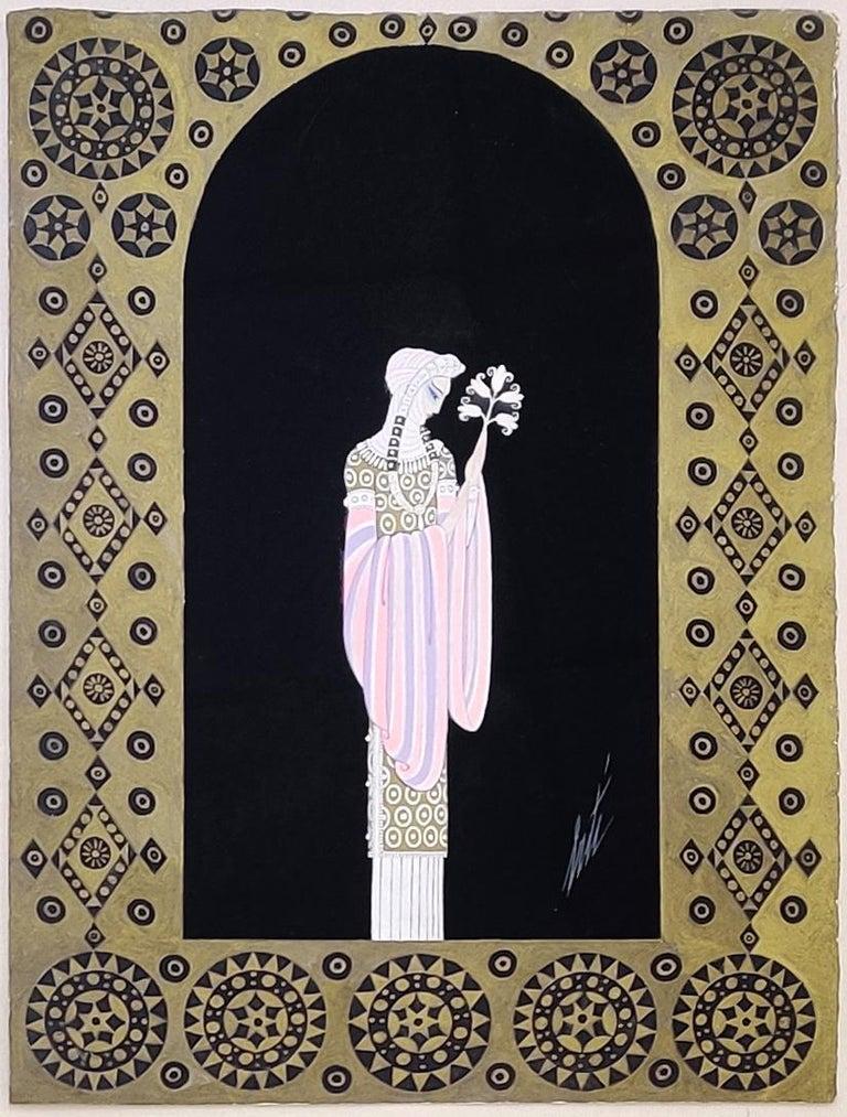 LA PRINCESSE LOINTAINE: LES FEMMES DE MILISSINDE - Art by Erté